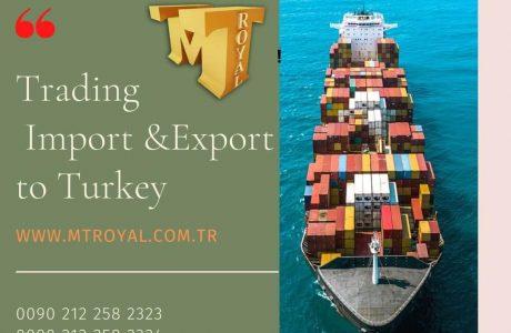 خدمات واردات کالا با شرکت ام تی رویال