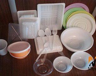 تولید و پخش ظروف یکبار مصرف