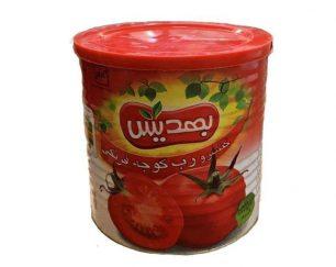 تولید رب گوجه فرنگی با کیفیت مناسب و قیمت رقابتی