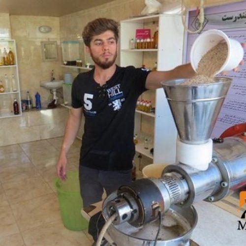 فروش دستگاه روغنگیری دانه های روغنی