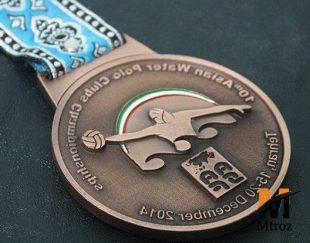 طراحی و ساخت انواع مدال ورزشی
