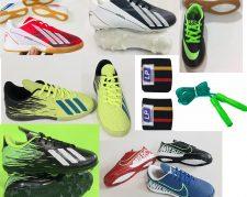 کفش فوتبالی و کفش کشتی