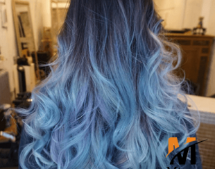 حالت دهنده رنگی مو گلدن رین رنگ آبی فیروزه ای مدل Dray