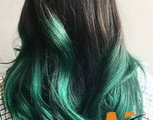 واکس مو رنگ موقت تناژ سبز مدل Cream شماره Cr8.5
