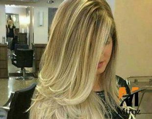 رنگ مو موقت زیتونی طلایی گلدن رین مدل Cream