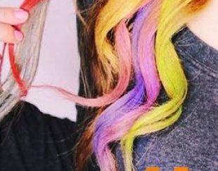 واکس مو رنگی قرمز رین