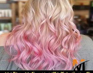 واکس مو رنگی صورتی گلدن رین مدل ultra شماره Cr27.6