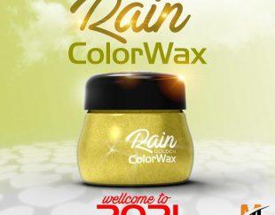 اعطای نمایندگی واکس مو رنگی RAIN مدل دو کاره