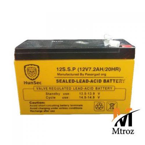 باتری 12 ولت 7.2 امپر هانسک