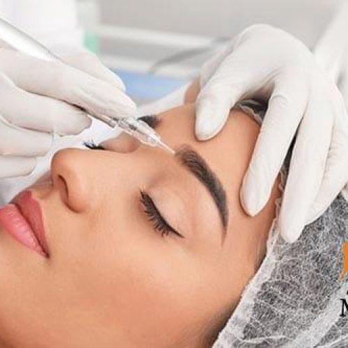 خدمات آرایش دائم در سالن ابروتو   05137661001 www.abrooto.ir