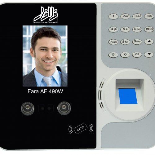 دستگاه حضور غیاب فراافزار مدلFara Af 490w