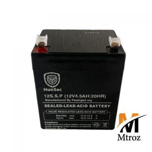 باتری12 ولت 4.5 آمپر هانسک