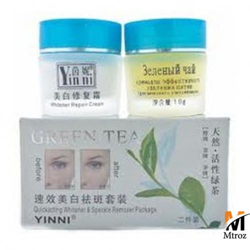 کرم روشن کننده چای سبز اصل