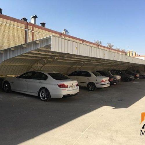 سازه فضایی – سایبان پارکینگ های اداری