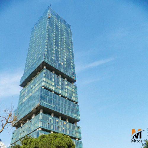 فروش واحد لوکس در برج استانبولوم مرکز استانبول با ویو عالی