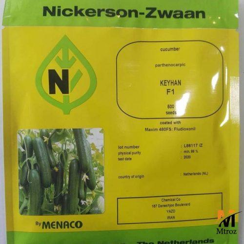 توزیع و فروش بذر خیار کیهان