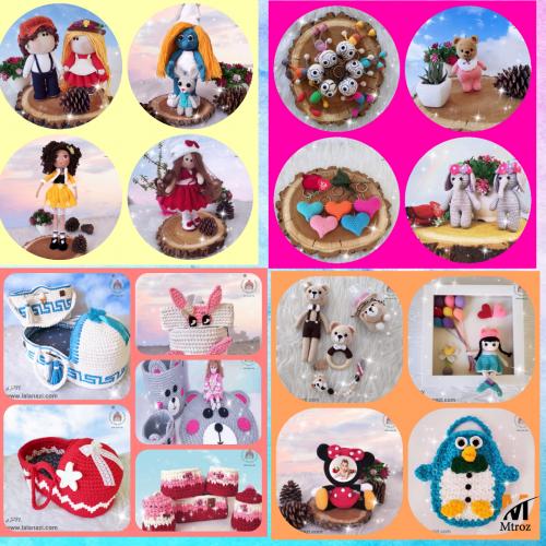 فروش انواع محصولات دستبافت عروسک،سیسمونی،جهیزیه،